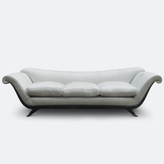 Italian 1940s Sofa Attributed to Guglielmo Ulrich