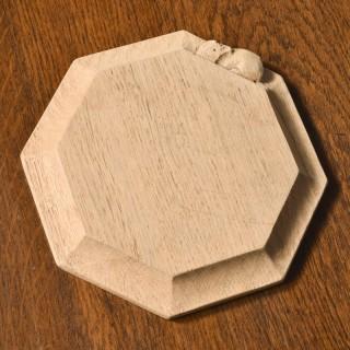 Oak Cheeseboard by Mouseman Thomson 30268