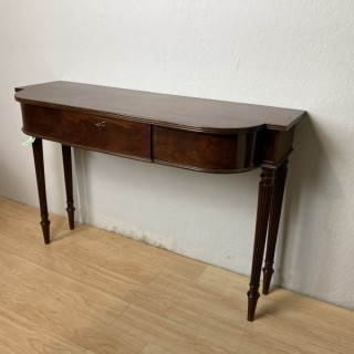 A Regency Mahogany Console  table in the maner of Gillows