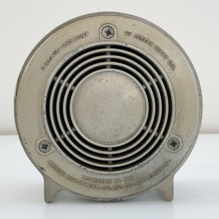 Art Deco Aneroid Barometer & Thermometer Desk Set by Joseph Lucas Ltd