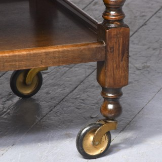 Oak Two-Tier Trolley.