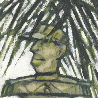 'Border Guard' by Willie Rodger RSA RGI (1930-2018)