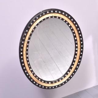 Antique 19th Century Irish Waterford Mirror