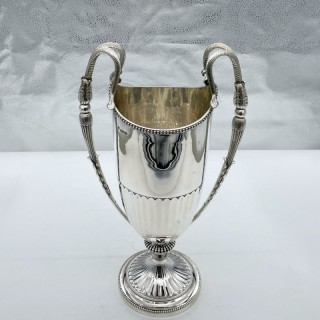 Antique George V Sterling Silver Champagne Cooler London 1911 Pairpoint Family