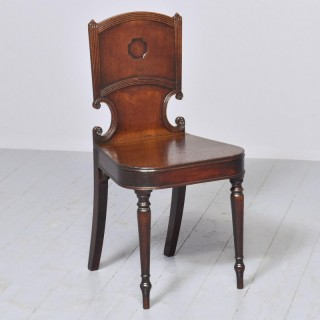 Mahogany George III Hall Chair