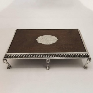 Antique Silver Table Trivet