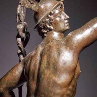 A Bronze Figure of The Medici Mercury, Italian, 19th Century