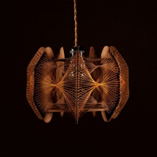 A Very Decorative and Stylish Art Illuminated Sculpture In the style of Naum Gabo.