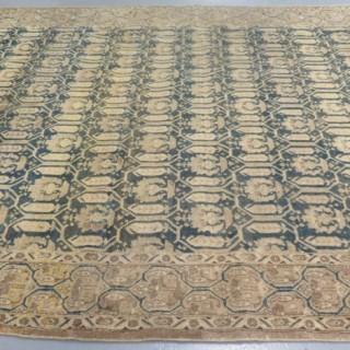 Unusual Isfahan rug