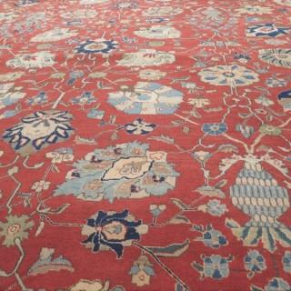 Decorative Tabriz carpet