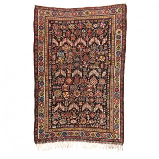 QASHQAI SHEKARLU/SHEKARLOO RUG, PERSIA, 19TH CENTURY