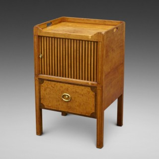 A rare tray-top commode attributed to Gillows