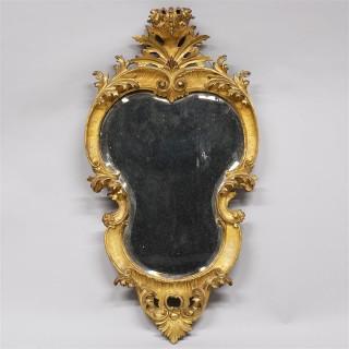 19th Century Venetian Giltwood Mirror