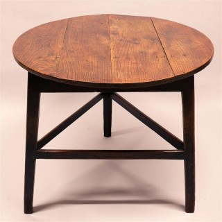 Large 18th Century Ash Cricket Table