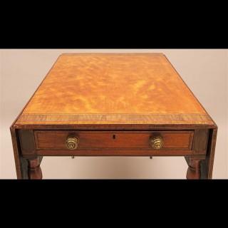 18th Century Hepplewhite Period Satinwood Pembroke Table