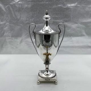 Antique George III Silver Coffee Urn London 1782 John Robins