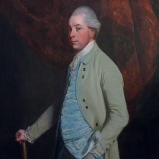 Thomas Beach (1738-1806). Portrait of William Craven, 6th Baron Craven