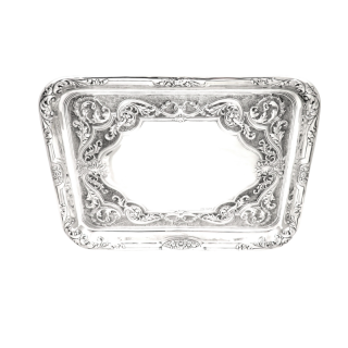 Antique Edwardian Sterling Silver Dressing Tray 1904