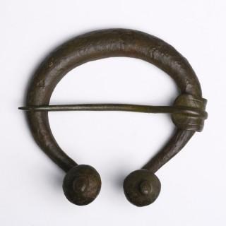 Viking Bronze Penannular Brooch