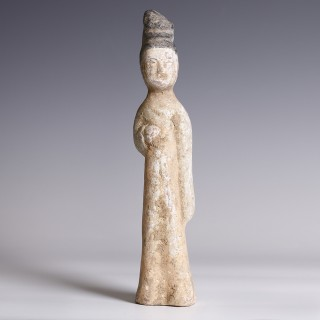 Chinese Tang Terracotta Court Lady