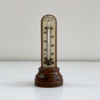 Art Deco Period Bakelite Desk Thermometer by Negretti & Zambra London