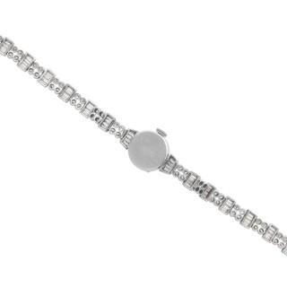 4.82 ct Diamond Admina Cocktail Watch in Platinum - Art Deco - Vintage Circa 1940