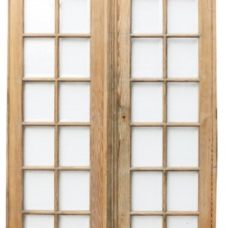 A Pair of Antique Glazed Double Doors