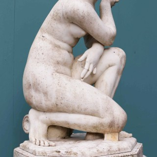 An Antique Marble Sculpture of Aphrodite