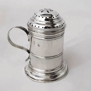 George I Silver Kitchen Pepper