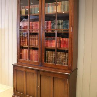 Large London Plane Cabinet Bookcase