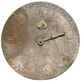 Antique Slate Clock Face