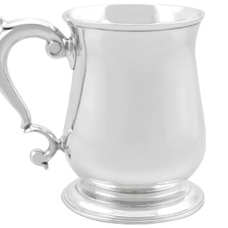 Sterling Silver Mug - Antique Georgian (1743)