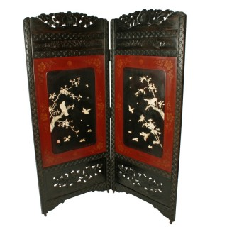 Japanese Two Fold Screen