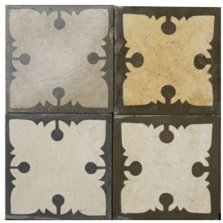 Reclaimed Patterned Encaustic Floor Tiles 8 m2 (86 sq ft)