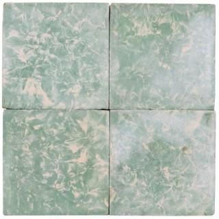 Reclaimed Green Marble Effect Cement Floor Tiles 11.4 m2 (122 sq ft)