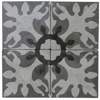 Reclaimed Patterned Encaustic Floor Tiles 3.6 m2 (38 sq ft)