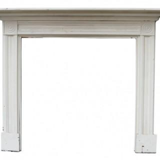 A Reclaimed Georgian Style Bullseye Fireplace