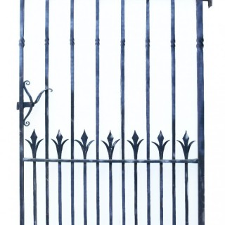 A Reclaimed Victorian Style Wrought Iron Pedestrian Gate