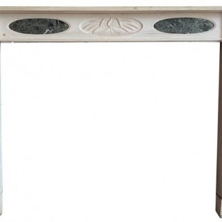 An English Regency Period Marble Fireplace