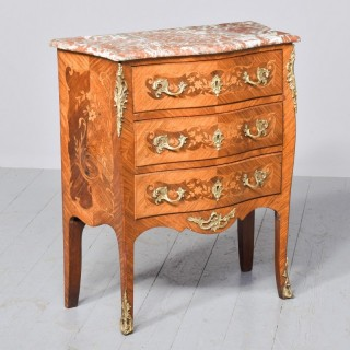 French Marble Topped Commode