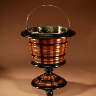 A Dutch Coopered Tea Stove Bucket/ Peat Bucket / Jardinière.