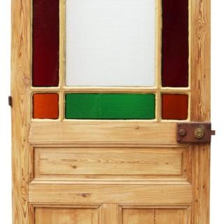 An Antique Margin Glazed Door
