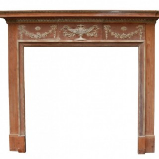 A Georgian Style Reclaimed Fire Surround