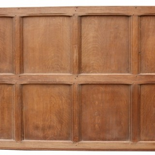Antique Reclaimed English Oak Wall Panelling 6.9m (22.6 ft)