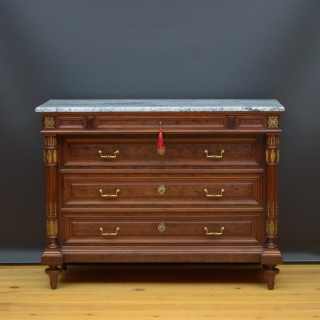 Superb 19th Century Mahogany Chest of Drawers