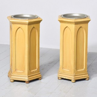 Pair of Gothic Stands