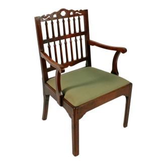 18th Georgian Oak Arm Chair
