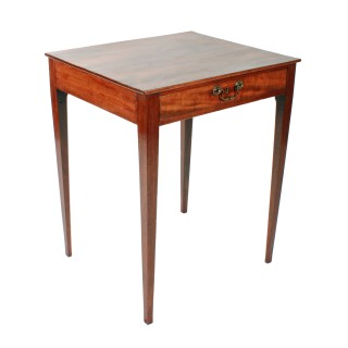 18th Century One Drawer Side Table