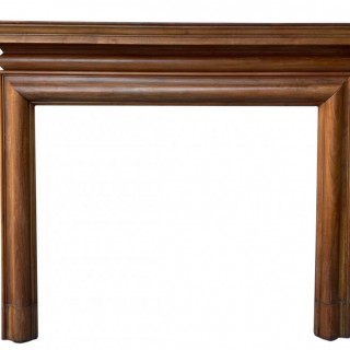 A Reclaimed Early 20th Century Walnut Fire Surround