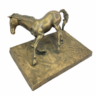 ARABIAN HORSE BRONZE STATUE